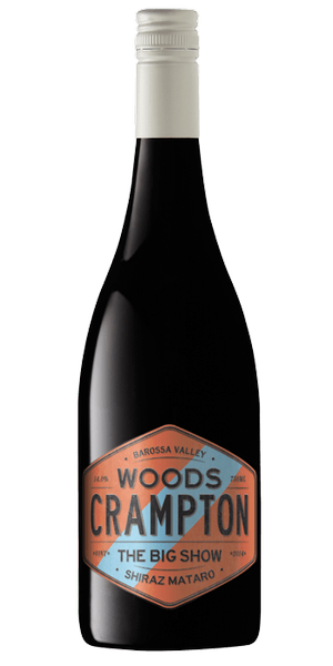 Woods Crampton Coloured Label Big Show Shiraz Mataro (12pk)