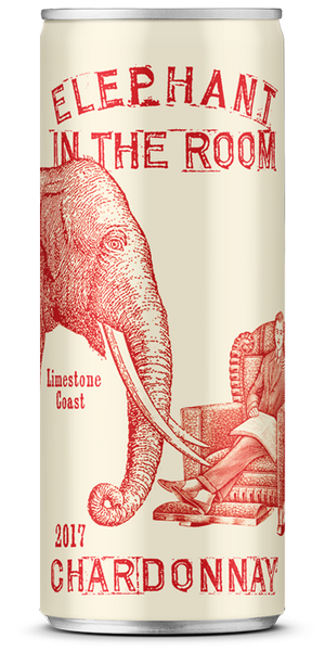 Wine in a Can Elephant In The Room Chardonnay (24pk)