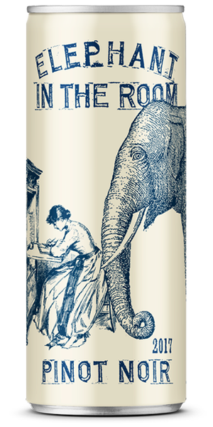 Wine in a Can Elephant In The Room Pinot Noir (24pk)