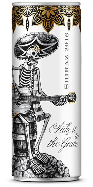 Wine in a Can Take It To The Grave Shiraz (24pk)