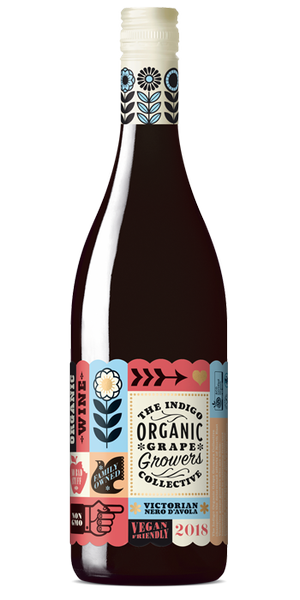 Indigo Organic Grape Growers Collective Nero d'Avola (6pk)